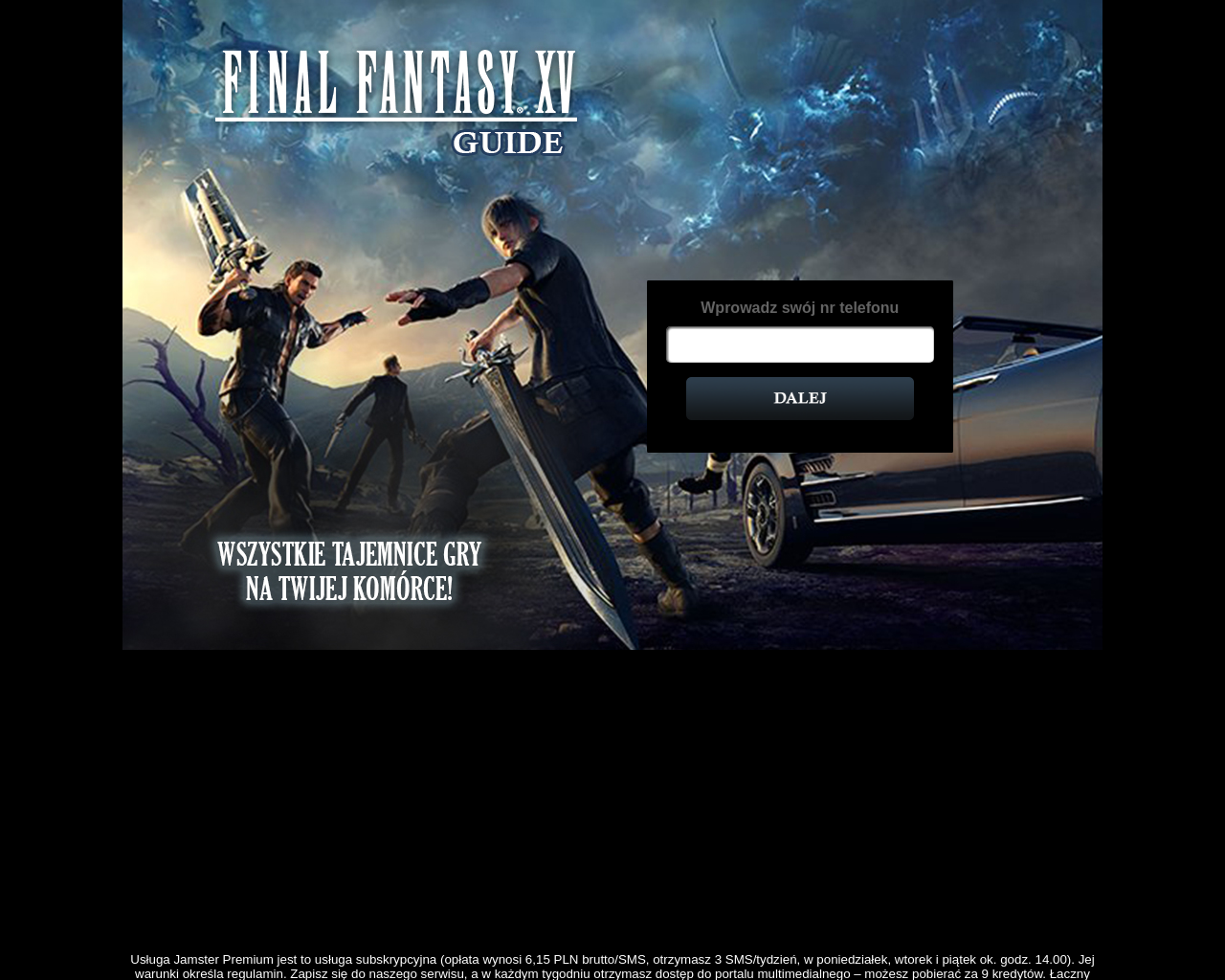 Get Final Fantasy XV Guide