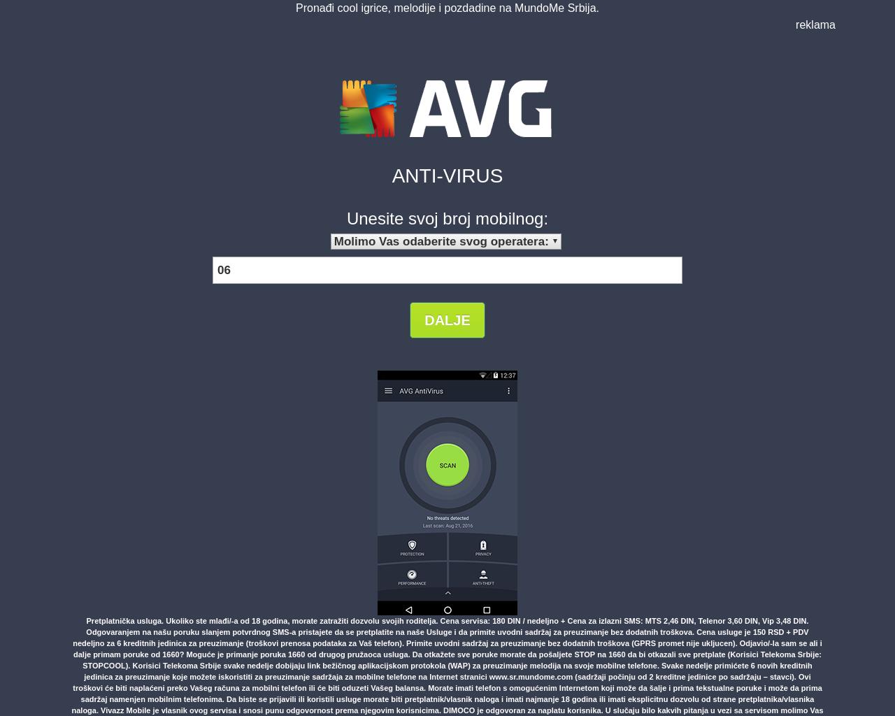 Get AVG Antivirus
