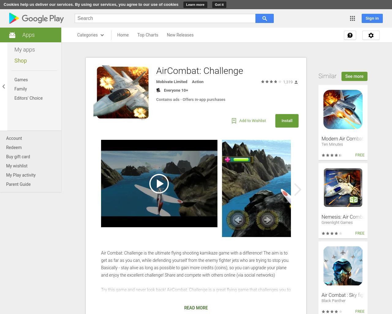 AirCombat: Challenge